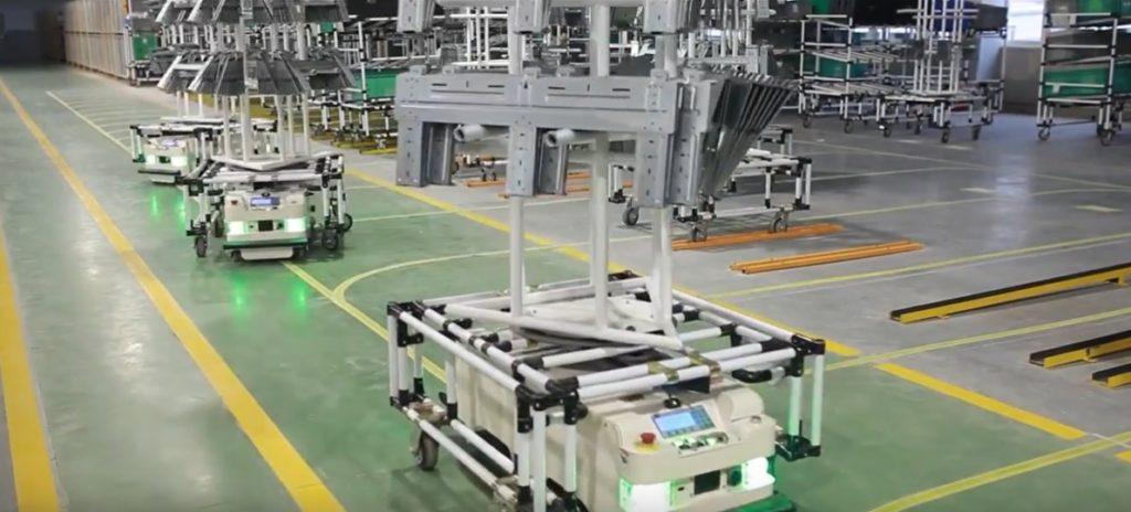 Hisense airco fabriek
