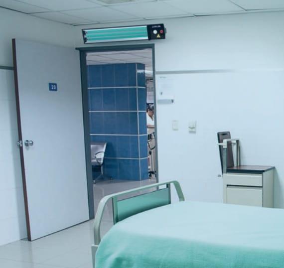 UV desinfectie ziekenhuis