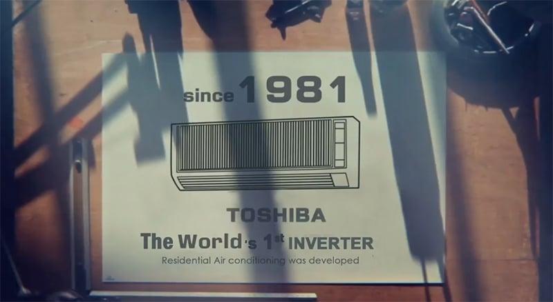 Toshiba airco